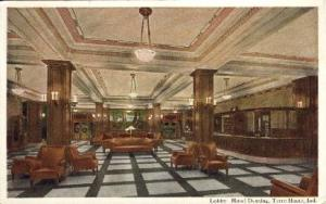 Hotel Deming Terre Haute IN unused