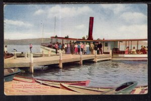 Steamer Majestic at Sunday School Camp,Lake Geneva,WI BIN