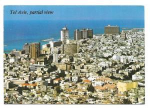 Tel-Aviv Israel Aerial View 1977 Postcard Sc 464a 619