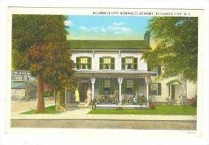 Elizabeth City Womans Club Home, Elizabeth City, North Carolina, 1900-1910s