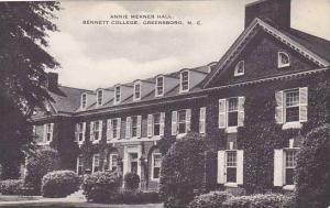 North Carolina Greensboro Bennett College Annie Merner Artvue