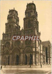 Postcard Modern Orleans (Loiret) The Cahtedrale St Croix