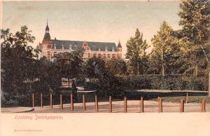 Sweden Old Vintage Antique Post Card Linkopig Jernvagsparken Unused