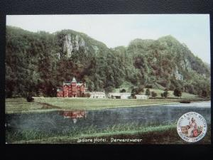 L.& N.W. Railway Official DERWENTWATER Ladore Hotel c1905 Postcard