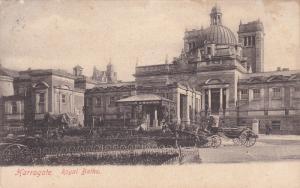 Royal Baths, Horse Cart, HARROGATE (North Yorkshire), England, UK, PU-1910