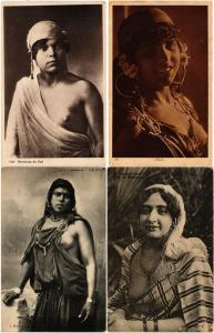 ALGERIA ALGERIE ETHNIC NUDES NUES AFRIQUE AFRICA 39 Vintage Postcards pre-1940
