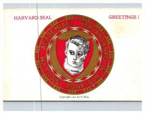 Massachusetts , Harvard  University Seal