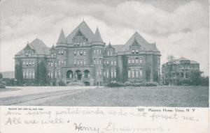 UTICA, New York, PU-1906; Masonic Home