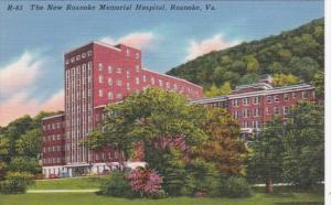 Virginia Roanoke The New Roanoke Memorial Hospital