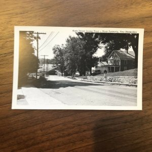 New Hampshire NH Main Street West Swanzey Postcard Old Vintage Card View Post PC