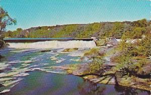 Maine Topsham Area Androscoggin River Falls