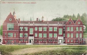 Portland Academy, Portland, Oregon, PU-1910