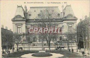 Old Postcard Saint Etienne La Prefecture