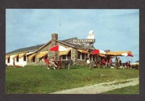 NH Mt Jefferson Motel RANDOLPH NEW HAMPSHIRE Postcard