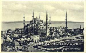 Turkey Sultan Ahmer Camii, Mosquee Sultan Ahmed