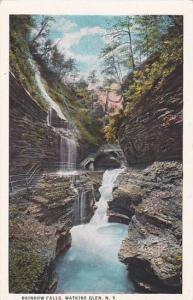 New York Walkins Glen Rainbow Falls