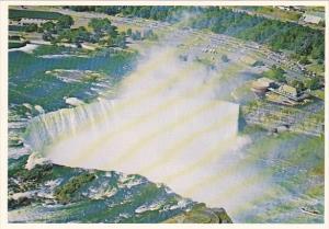 Canada Birds Eye View Horseshoe Falls Niagara Falls Ontario