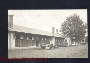 RPPC RPPC LAGERLECHFELD GERMANY 1914GERMAN SOLDIERS OLD REAL PHOTO POSTCARD