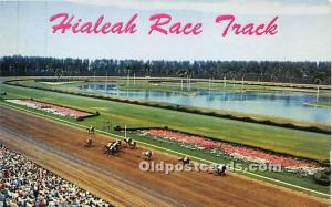 Hialeah Park Race Track Miami, Florida, FL, USA Unused