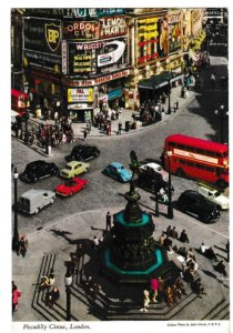 postcard London Piccadilly Circus