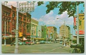 Colorado Springs~Alamo Hotel~Coca Cola~Foxes Restaurant, Ajax, Theatre~1960s