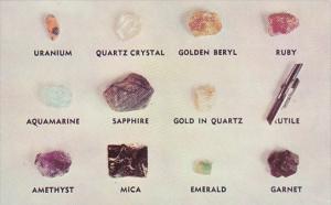 North Carolina Minerals At Green's Mineral & Gift Shop Spruce Pine North Caro...