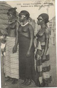 CPA Senegal Ethnic Nude Fortier - 1262. Femmes de la Région de Nono (71205)
