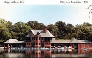Rhode Island Providence Roger Williams Park Dalrymple Boathouse