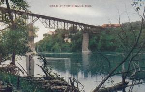 ST. PAUL , Minnesota , 1900-10s ; Bridge at FORT SNELLING