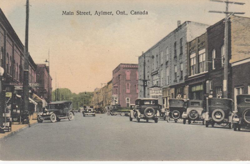 AYLMER , Ontario, Canada, 1910s ; Main Street
