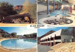 Namibia Ai-Ais Resort Entrance Hot Mineral Indoor Jacuzzi Pools