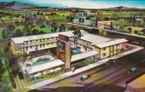 Glen Capri Motel Pool Glendale California