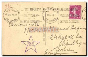 Old Postcard Lisieux Old Houses