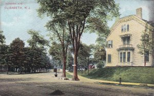ELIZABETH , New Jersey , 1900-10s; Newark Avenue