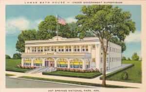 HOT SPRINGS National Park, Arkansas, 1930-40s; Lamar Bath House