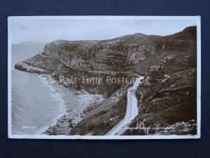 North Wales LLANDUDNO Marine Drive c1920's RP Postcard by Valentine