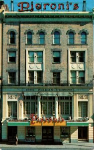 Massachusetts Boston Pieroni's Hotel & REstaurant
