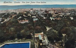 TUCK #1038, Hamilton, View from James Street Incline, Ontario, Canada, 00-10s