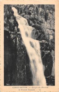 Algeria Constantine Gorges du Rhumel La Grande Cascade