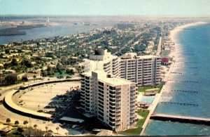 Florida Clearwater Beach Aerial View Looking South