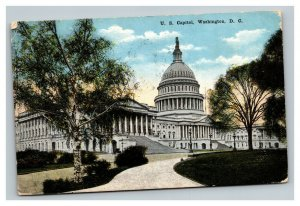 Vintage 1916 Postcard Panoramic View of the Capitol Building Washington DC