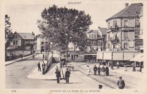 Avenue De La Gare Et La Montee, BELFORT (Territoire De Belfort), France, 00-10s