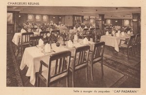 Chargeurs Reunis , CAP PADARAN , Salle a manger  , 1930s