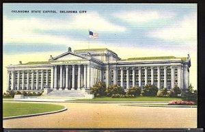 USA Postcard Oklahoma State Capitol Oklahoma City