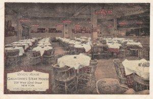 NEW YORK CITY , 1930s ; Gallagher's Steak House
