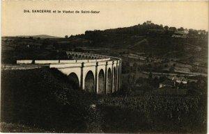 CPA Sancerre et la Viaduc de Saint-Satur FRANCE (961176)