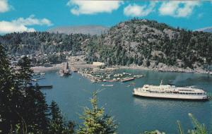 Steamer/Ship, Horseshoe Bay, West Vancouver, British Columbia, Canada, 1940-1...