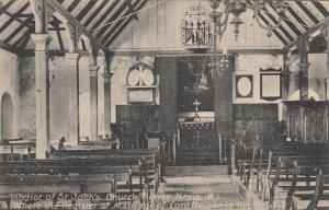NEVIS , Leeward Islands , 00-10s ; Interior of St John's Church