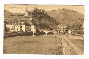 L'Our, Small Bridge, Vianden, Luxembourg, 1900-1910s