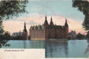 Sweden Frederiksborg Slot Castle 1911